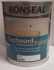 Ronseal cupboard paint 750ml all colours